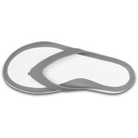 Crocs Swiftwater Flip Sandals Women smoke/white